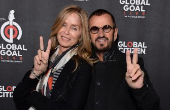 LONDON, ENGLAND - DECEMBER 13: Barbara Bach and Ringo Starr attend the 2019 Global Citizen Prize at the Royal Albert Hall on December 13, 2019 in London, England. (Photo by Jeff Spicer/Getty Images for Global Citizen)
