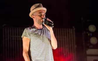 I Subsonica in concerto al Postepay Rock In Roma, 20 luglio 2015 a Roma. ANSA/ VINCENZO PAGLIARULO
