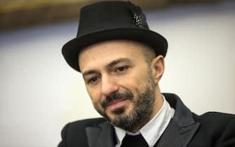 Samuel dei Subsonica, durante la presentazione del Capodanno romano, 16 dicembre 2014 a Roma. ANSA/MASSIMO PERCOSSI
