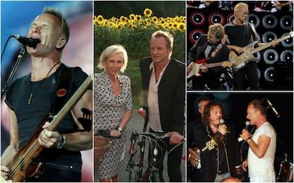 Sting compie 70 anni: dai Police alla carriera da solista. FOTO