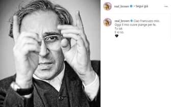 Emma Marrone posta unr ricordo di Franco Battiato poco dopo la sua morte