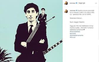 Miriam Leone posta unr ricordo di Franco Battiato poco dopo la sua morte