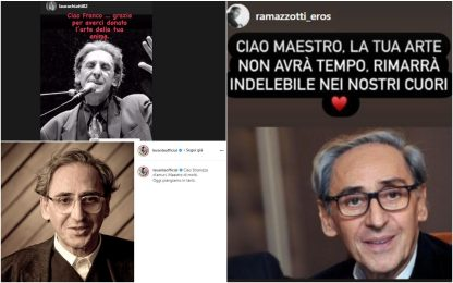 Morto Franco Battiato, da Morgan a Levante: il ricordo social
