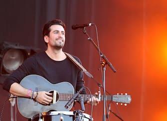 LANDGRAAF, NETHERLANDS - JUNE 13:  Dotan performs live during the Pinkpop Festival at Megaland on June 13, 2015 in Landgraaf, Netherlands.  (Photo by Greetsia Tent/WireImage)