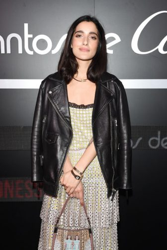 MILAN, ITALY - APRIL 16:  Claudia  Lagona wearing jewelry by Cartier attends Cartier Legendary Thrill, Cocktail Party on April 16, 2018 in Milan, Italy.  (Photo by Stefania M. D'Alessandro/Getty Images for Cartier)