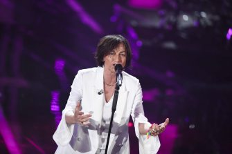 SANREMO, ITALY - FEBRUARY 09:  Gianna Nannini attends the fourth night of the 68. Sanremo Music Festival on February 9, 2018 in Sanremo, Italy.  (Photo by Venturelli/WireImage)