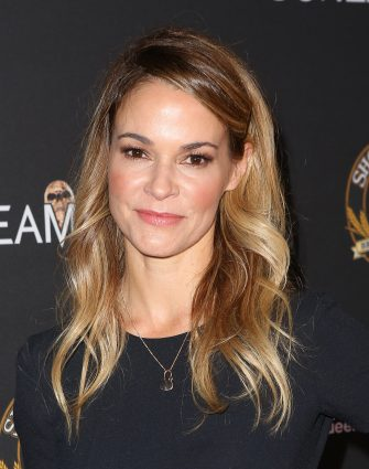 """HOLLYWOOD, CA - OCTOBER 10:  Leisha Hailey at Screamfest Opening Night, premiere of """"Dead Ant"""" at Grauman's Chinese Theatre on October 10, 2017 in Hollywood, California.  (Photo by Tasia Wells/Getty Images)"""
