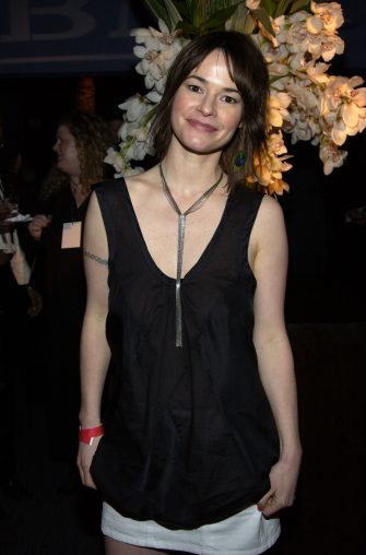 Leisha Hailey during 2004 BMG GRAMMY After Party - Inside at The Avalon in Hollywood, California, United States. (Photo by L. Busacca/WireImage for Sony BMG Music Entertainment)