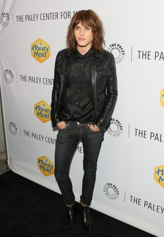 LOS ANGELES, CA - NOVEMBER 12: Katherine Moennig attends The Paley Center for Media?s 2014 LA Benefit Gala presented by Honey Maid, celebrating LGBT equality in media at the Skirball Cultural Center on November 12, 2014 in Los Angeles, California. (Photo by JB Lacroix/WireImage)