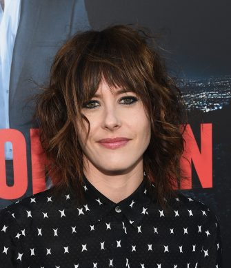 """MALIBU, CA - JULY 09:  Actress Kate Moennig arrives at the premiere of Season 2 of Showtime's """"Ray Donovan"""" Presented by Time Warner Cable at Nobu Malibu on July 9, 2014 in Malibu, California.  (Photo by Michael Buckner/Getty Images)"""