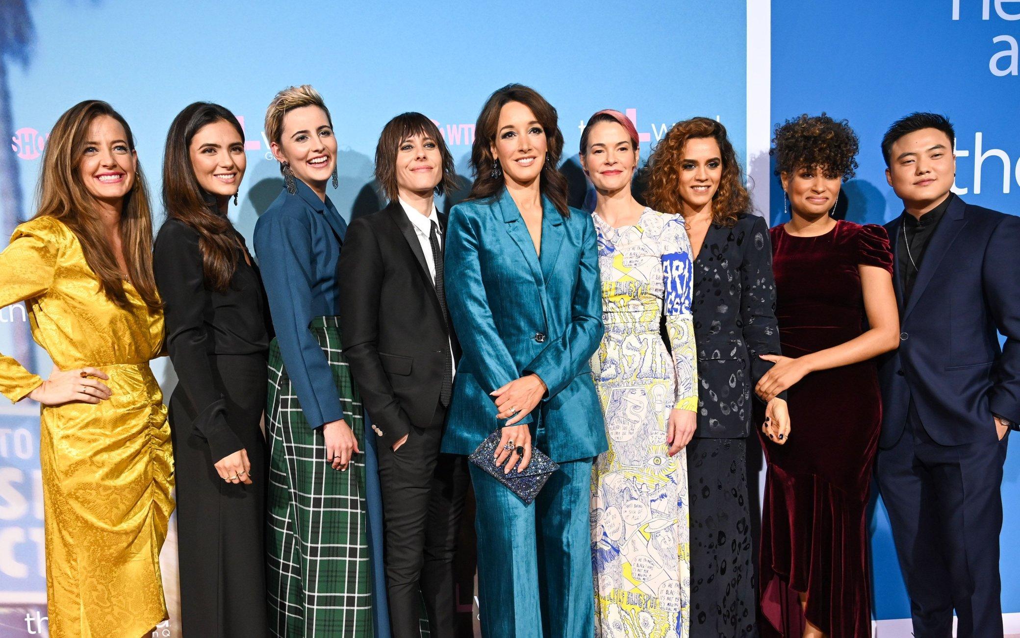 Il cast di The L Word: Generation Q