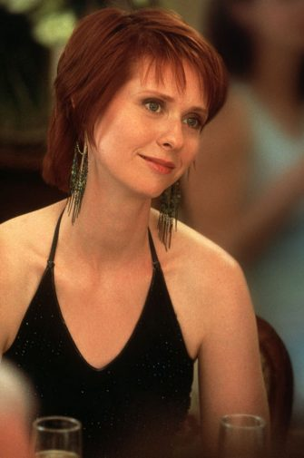 "385528 11: Actress Cynthia Nixon Stars As Miranda In The Hbo Comedy Series ""Sex And The City"" The Third Season.  (Photo By Getty Images)"