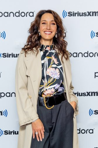 NEW YORK, NEW YORK - DECEMBER 05: (EXCLUSIVE COVERAGE) Jennifer Beals visits SiriusXM Studios on December 05, 2019 in New York City. (Photo by Roy Rochlin/Getty Images)