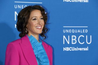 NEW YORK, NY - MAY 15:  Actress Jennifer Beals attends the 2017 NBCUniversal Upfront at Radio City Music Hall on May 15, 2017 in New York City.  (Photo by Jim Spellman/WireImage)