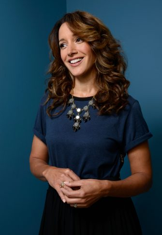 TORONTO, ON - SEPTEMBER 06:  Actress/Executive Producer Jennifer Beals of 'Cinemanovels' poses at the Guess Portrait Studio during 2013 Toronto International Film Festival on September 6, 2013 in Toronto, Canada.  (Photo by Larry Busacca/Getty Images)