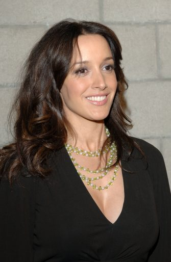 Jennifer Beals during CBS/Paramount/UPN/Showtime/King World 2006 TCA Winter Press Tour Party - Red Carpet at The Wind Tunnel in Pasadena, California, United States. (Photo by L. Cohen/WireImage)