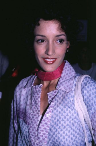 """Jennifer Beals during """"Trainspotting"""" New York City Premiere at Sony Theater - 34th Street in New York City, New York, United States. (Photo by Steve Eichner/WireImage)"""