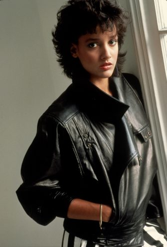 UNSPECIFIED - CIRCA 1983: Jennifer Beals fashion photos circa 1983. (Photo by Images Press/IMAGES/Getty Images)