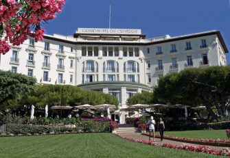 This picture taken on July 3, 2003 shows the Grand Hotel du Cap Ferrat in Saint Jean Cap Ferrat, on the French Riviera.  In a week of jewellery heists on the French Riviera, another theft has been reported at the billionaires' resort of the Grand Hotel de Saint Jean Cap Ferrat, east of Nice, police said on August 3, 2013. The safes of three rooms at the hotel were broken into and jewellery and other valuables estimated at 40,000 euros ($53,000) were stolen, the hotel management reported late on August 2.   AFP PHOTO / VANINA LUCCHESI        (Photo credit should read VANINA LUCCHESI/AFP via Getty Images)