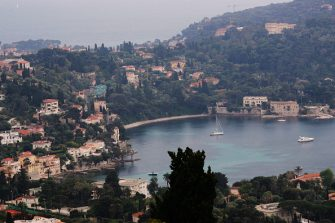 NCE - MAY 05:  A general view of Saint Jean Cap Ferrat where Angelina Jolie and Brad Pitt  are staying on May 5, 2008 in Saint-Jean-Cap-Ferrat, France.