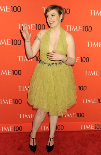 NEW YORK, NY - APRIL 23:  Actress Lena Dunham attends the 2013 Time 100 Gala at Frederick P. Rose Hall, Jazz at Lincoln Center on April 23, 2013 in New York City.  (Photo by Jennifer Graylock/Getty Images)