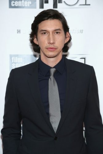 """NEW YORK, NY - SEPTEMBER 28:  Actor Adam Driver attends the """"Inside Lleywn Davis"""" premiere during the 51st New York Film Festival at Alice Tully Hall at Lincoln Center on September 28, 2013 in New York City.  (Photo by Rob Kim/Getty Images)"""