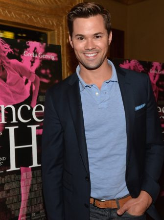 """LOS ANGELES, CA - MAY 01:  Actor Andrew Rannells attends a screening of IFC Films' """"Frances Ha"""" at the Vista Theatre on May 1, 2013 in Los Angeles, California.  (Photo by Alberto E. Rodriguez/Getty Images)"""