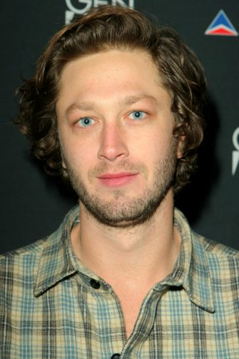 """Ebon Moss-Bachrach during 2007 Sundance Film Festival - """"High Falls"""" Party at the Delta Sky Lodge at Delta Sky Lounge in Park City, Utah, United States. (Photo by Rebecca Sapp/WireImage for Sundance Film Festival)"""