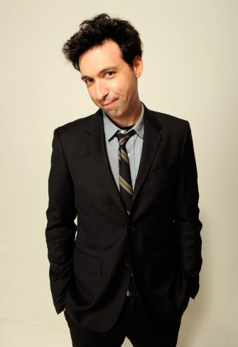 NEW YORK, NY - APRIL 23:  Actor Alex Karpovsky of the film 'Supporting Characters' visits the Tribeca Film Festival 2012 portrait studio at the Cadillac Tribeca Press Lounge on April 23, 2012 in New York City.  (Photo by Larry Busacca/Getty Images)