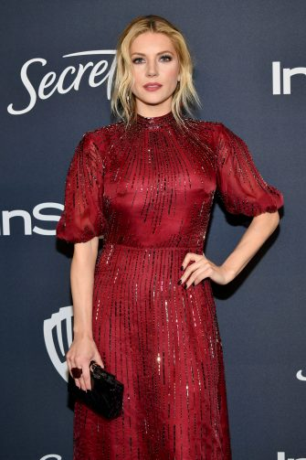BEVERLY HILLS, CALIFORNIA - JANUARY 05: Katheryn Winnick attends the 21st Annual Warner Bros. And InStyle Golden Globe After Party at The Beverly Hilton Hotel on January 05, 2020 in Beverly Hills, California. (Photo by Amy Sussman/Getty Images)
