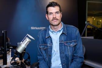 NEW YORK, NEW YORK - APRIL 02: Tim Simons visits SiriusXM Studios on April 02, 2019 in New York City. (Photo by Santiago Felipe/Getty Images)