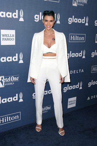 BEVERLY HILLS, CALIFORNIA - APRIL 02:  Actress Ruby Rose attends the 27th Annual GLAAD Media Awards at the Beverly Hilton Hotel on April 2, 2016 in Beverly Hills, California.  (Photo by Frederick M. Brown/Getty Images)