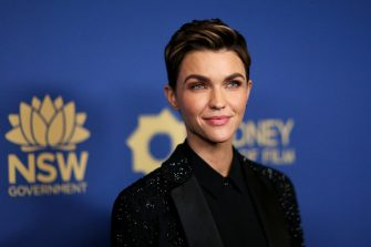 LOS ANGELES, CALIFORNIA - OCTOBER 23:  Ruby Rose attends the 2019 Australians In Film Awards at InterContinental Los Angeles Century City on October 23, 2019 in Los Angeles, California. (Photo by Phillip Faraone/WireImage)
