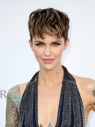 CAP D'ANTIBES, FRANCE - MAY 17:  Ruby Rose arrives at the amfAR Gala Cannes 2018 at Hotel du Cap-Eden-Roc on May 17, 2018 in Cap d'Antibes, France.  (Photo by Mike Marsland/Mike Marsland/WireImage)