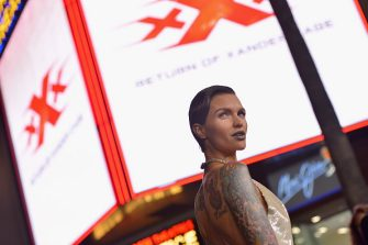 HOLLYWOOD, CA - JANUARY 19:  Actress Ruby Rose attends the LA Premiere of the Paramount Pictures title 'xXx: Return of Xander Cage' at TCL Chinese Theatre IMAX on January 19, 2017 in Hollywood, California.  (Photo by Charley Gallay/Getty Images for Paramount Pictures)