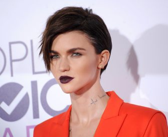 LOS ANGELES, CA - JANUARY 18:  Actress/model Ruby Rose arrives at the 2017 People's Choice Awards at Microsoft Theater on January 18, 2017 in Los Angeles, California.  (Photo by Gregg DeGuire/WireImage)