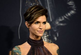 """HOLLYWOOD, CA - DECEMBER 12:  Actress Ruby Rose arrives at the premiere of  Universal Pictures' """"Pitch Perfect 3"""" on December 12, 2017 in Hollywood, California.  (Photo by Amanda Edwards/WireImage)"""