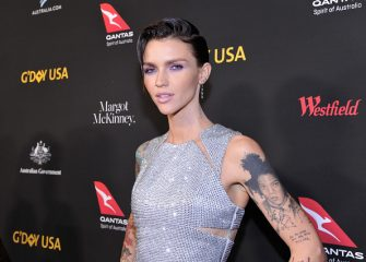 LOS ANGELES, CA - JANUARY 27:  Ruby Rose attends the 2018 G'Day USA Black Tie Gala at InterContinental Los Angeles Downtown on January 27, 2018 in Los Angeles, California.  (Photo by John Sciulli/Getty Images for G'Day USA)