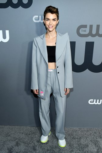NEW YORK, NEW YORK - MAY 16: Ruby Rose attends the The CW Network 2019 Upfronts at New York City Center on May 16, 2019 in New York City. (Photo by Kevin Mazur/Getty Images for The CW Network)