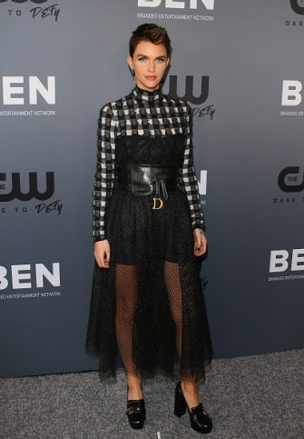 BEVERLY HILLS, CALIFORNIA - AUGUST 04: Ruby Rose attends The CW's Summer 2019 TCA Party sponsored by Branded Entertainment Network at The Beverly Hilton Hotel on August 04, 2019 in Beverly Hills, California.  (Photo by Jean Baptiste Lacroix/WireImage)