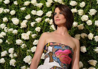 NEW YORK, NY - JUNE 11:  Cobie Smulders attends the 2017 Tony Awards at Radio City Music Hall on June 11, 2017 in New York City.  (Photo by Jemal Countess/Getty Images for Tony Awards Productions)