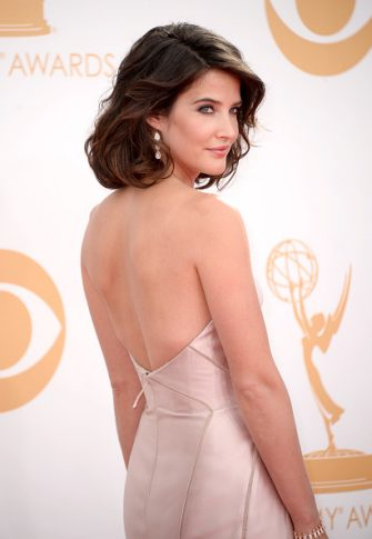 LOS ANGELES, CA - SEPTEMBER 22:  Actress Cobie Smulders arrives at the 65th Annual Primetime Emmy Awards held at Nokia Theatre L.A. Live on September 22, 2013 in Los Angeles, California.  (Photo by Frazer Harrison/Getty Images)