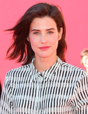 WESTWOOD, CA - FEBRUARY 01:  Actress Cobie Smulders attends the premiere of 'The LEGO Movie' at Regency Village Theatre on February 1, 2014 in Westwood, California.  (Photo by Imeh Akpanudosen/Getty Images)