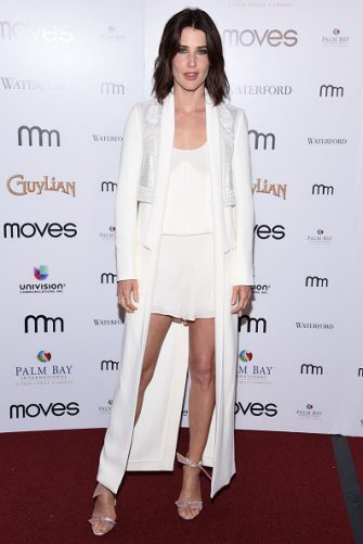 NEW YORK, NY - NOVEMBER 11:  Actress Cobie Smulders attends the New York Moves 2016 Power Women Awards at India House Club on November 11, 2016 in New York City.  (Photo by Matthew Eisman/Getty Images)