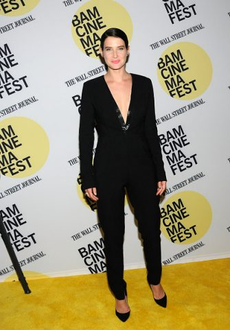 """NEW YORK, NY - JUNE 23:  Actress Cobie Smulders  attends the """"Unexpected"""" Premiere BAMcinemaFest 2015 at BAM Peter Jay Sharp Building on June 23, 2015 in the Brooklyn borough in New York City.  (Photo by Desiree Navarro/WireImage)"""