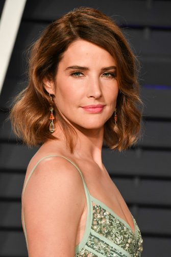 BEVERLY HILLS, CALIFORNIA - FEBRUARY 24: Cobie Smulders attends the 2019 Vanity Fair Oscar Party hosted by Radhika Jones at Wallis Annenberg Center for the Performing Arts on February 24, 2019 in Beverly Hills, California. (Photo by George Pimentel/Getty Images)