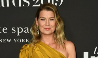 """US actress Ellen Pompeo arrives for the 5th Annual """"InStyle Awards"""" at the Getty Center in Los Angeles on October 21, 2019. (Photo by VALERIE MACON / AFP) (Photo by VALERIE MACON/AFP via Getty Images)"""