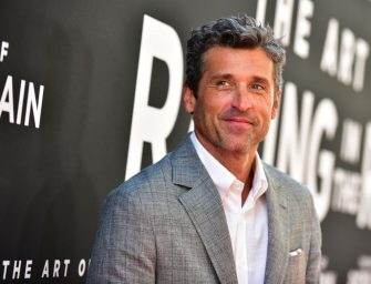 """LOS ANGELES, CALIFORNIA - AUGUST 01: Patrick Dempsey attends the premiere of 20th Century Fox's """"The Art of Racing in the Rain"""" at El Capitan Theatre on August 01, 2019 in Los Angeles, California. (Photo by Rodin Eckenroth/Getty Images)"""