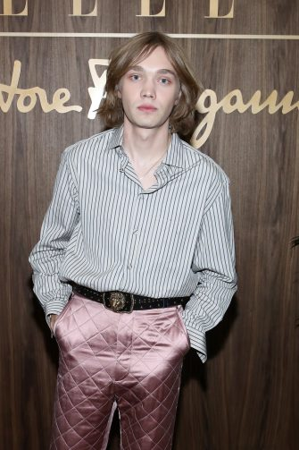 WEST HOLLYWOOD, CALIFORNIA - OCTOBER 11: Charlie Plummer attends ELLE & Ferragamo Hollywood Rising Celebration on October 11, 2019 in West Hollywood, California. (Photo by Randy Shropshire/Getty Images for ELLE)