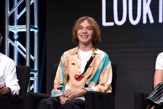 BEVERLY HILLS, CALIFORNIA - JULY 26:  Charlie Plummer speaks onstage during the Hulu 2019 Summer TCA Press Tour at The Beverly Hilton Hotel on July 26, 2019 in Beverly Hills, California. (Photo by Presley Ann/Getty Images for Hulu)